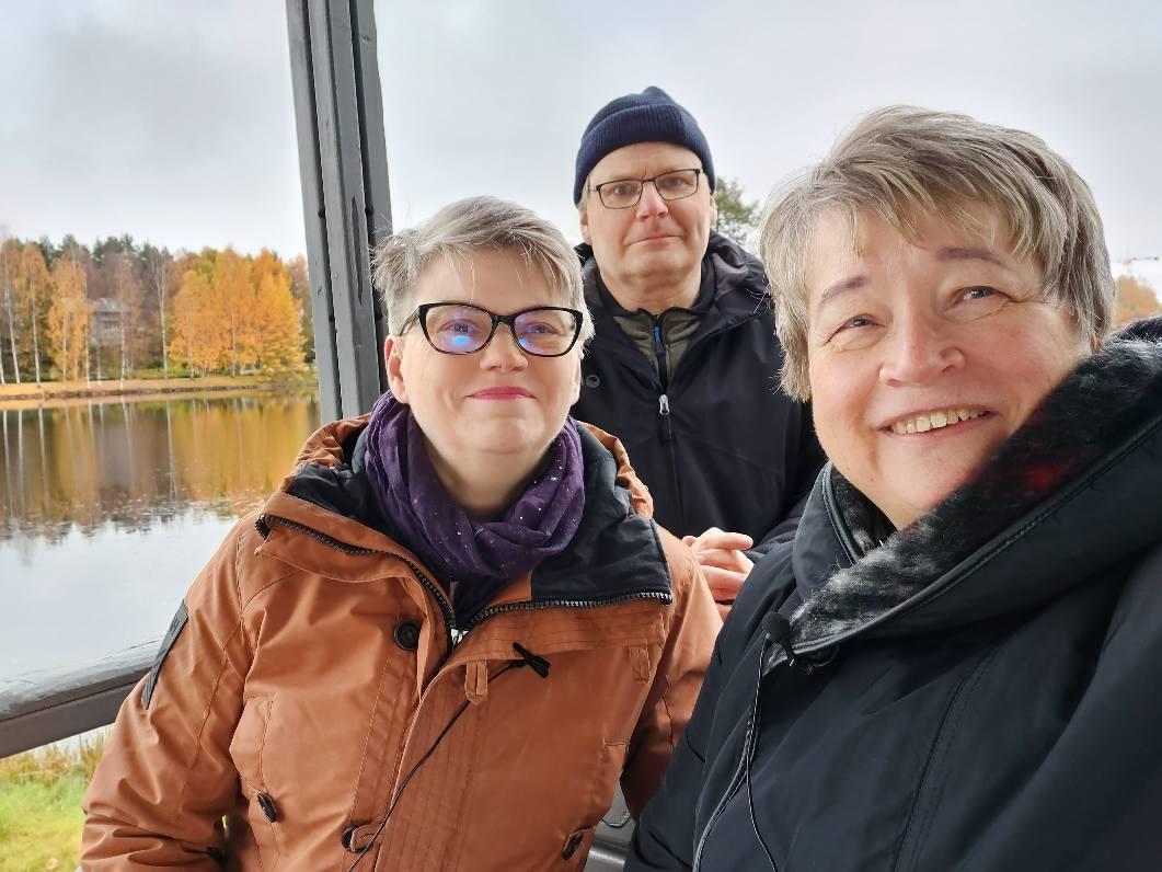 Mirja-Liisa Lindström oli ensimmäisen ohjelmamme Mitä kuuluu -henkilöhaastattelussa.